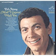 Ed Ames: More I Cannot Wish You LP VG+/NM Canada RCA LSP-3636 Some ringwear