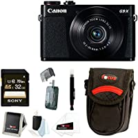 Canon PowerShot G9 X 20.2 MP Digital Camera (Black) with 32GB SDHC Card and Focus Accessory Bundle Explained Review Image