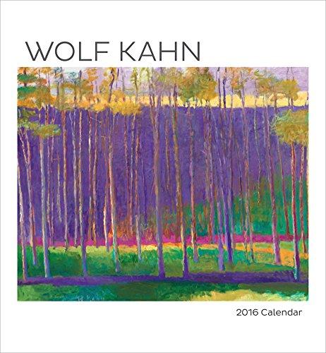 Wolf Kahn - 2016 Calendar 13 x 12in