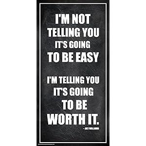 Culturenik Arthur Williams Inspirational Motivational Businessman Executive Celebrity Quote Classroom Print (Unframed 12×24 Poster)