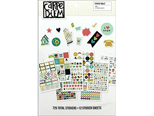 Simple Stories 8916 Home Sticker Tablet -