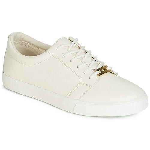the best attitude 7fdcd 8df5e Ralph Lauren Lauren, Sneaker Donna Bianco, (Bianco), 36 EU ...