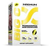 Magnum Nutraceuticals Big C - 200 Capsules - Energy & Endurance - Reduce Recovery Time - Increase Muscle Density - Increase Strength