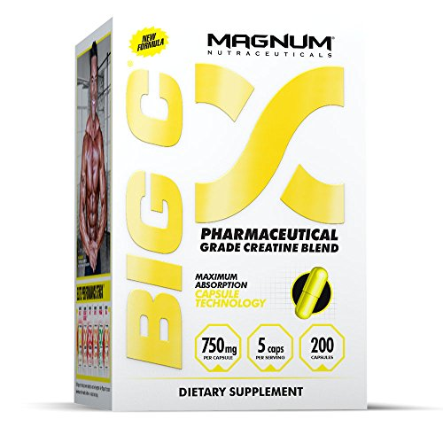Cheap Magnum Nutraceuticals Big C – 200 Capsules – Energy & Endurance – Reduce Recovery Time – Increase Muscle Density – Increase Strength