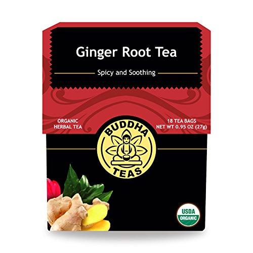 Organic Ginger Root Tea Caffeine Free