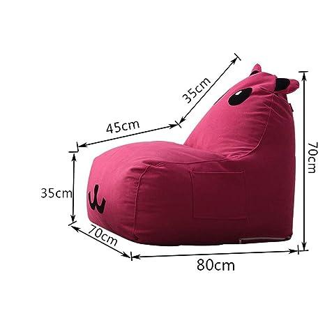 TongN-Sillones Bolso de alubias para niños Lazy Couch Tatami ...