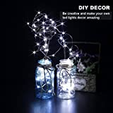 CYLAPEX 6 PCS Green Fairy Lights, Battery Operated