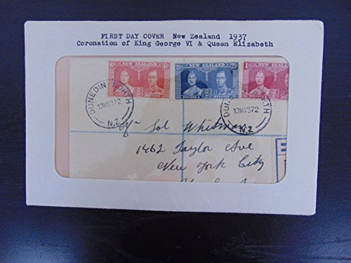 "RARE FDC ""Coronation Of King George VI And Queen Elizabeth"" Cancelled 1937"