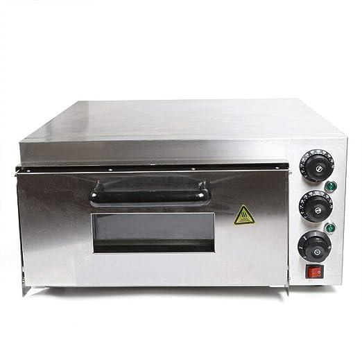 YIYIBY Pizza Oven 1 cámara eléctrica Pizza Pizza Horno de Pizza ...