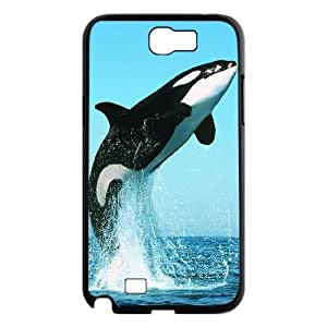 Dolphin Personalized Cover Case for Samsung Galaxy Note 2 N7100,customized phone case ygtg518939