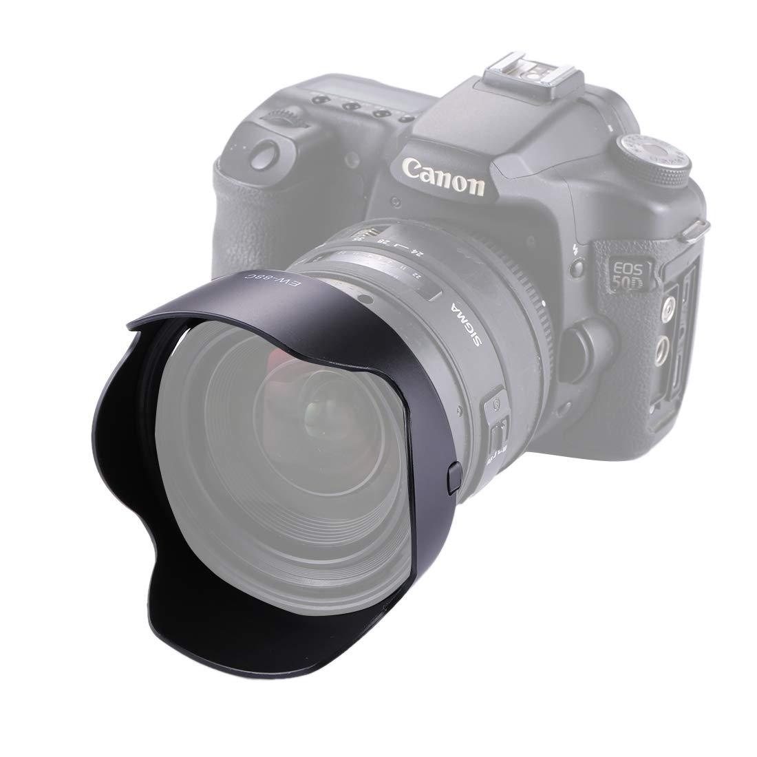 Consumer YHM EW-88C Parasol Parasol for cámara Canon EF 24-70/2.8L ...