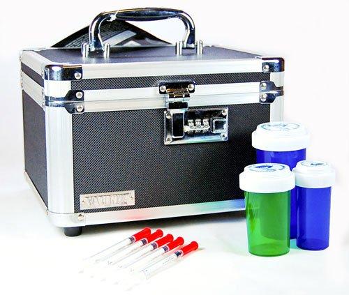 Médicament lourd de devoir référentiel sécurisé avec la combinaison (dimensions intérieures : 5.75