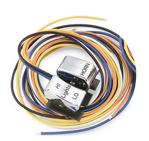 Bikers Choice Dimmer/Horn Switch Chrome XL Big Twin 82-95