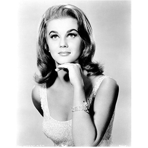 - Ann Margret Chest Up Shot Looking Lovely Black and White 8 x 10 Inch Photo