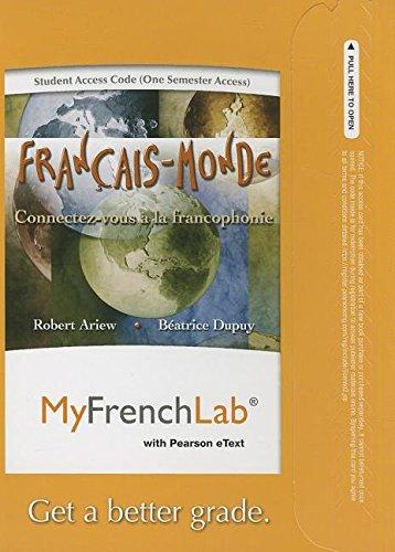 myfrenchlab-with-pearson-etext-access-card-francais-monde-connectez-vous-a-la-francophonie-one-semes