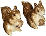 Abbott Collection Ceramic Squirrel Salt and Pepper Shakers