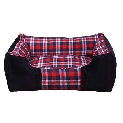 Yiuu Cama para Perros Cama para Mascotas Lavable Extraíble Mantenga Caliente Cama Cómoda para Celosías para