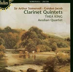 Somervell / Jacob: Quintets for Clarinet