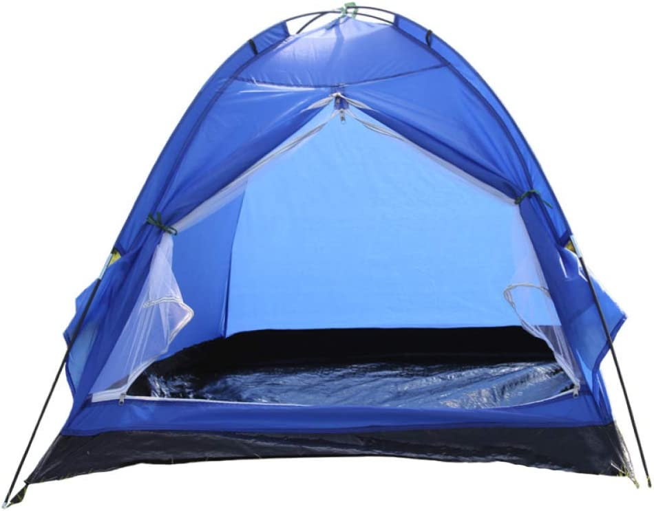 Amazon Com Lbafs Outdoor Camping Tent Waterproof For Couple Beach Children Game Park Fishing Travel 2 Person Blue Garden Outdoor