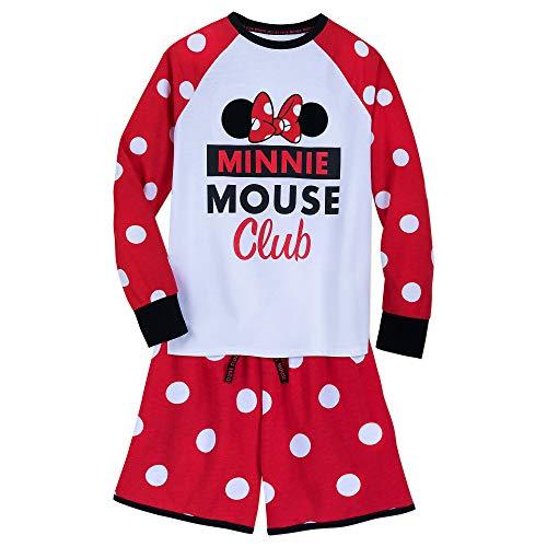 Disney Minnie Mouse PJ Set for Women Size Ladies XS Multi -