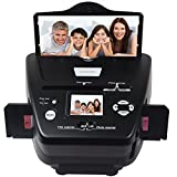 DIGITNOW 5M/10M 35mm Slides&Negatives Film Scanner Photo, Name Card, Slides and Negatives to Digital Converter for Saving Films to Digital Files in SD card(Included) with Photo Editing Software