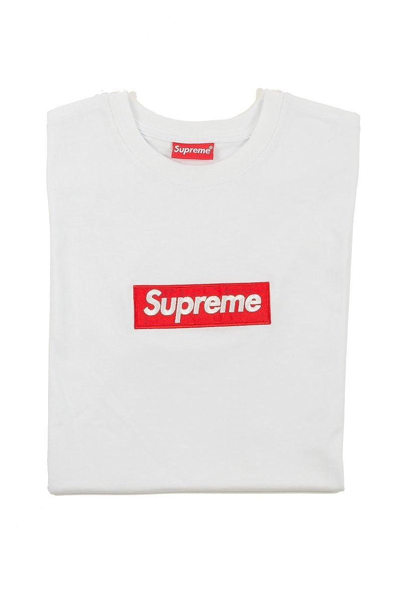 Supreme Italia - Camiseta - para Hombre Bianco Large: Amazon.es: Ropa y accesorios