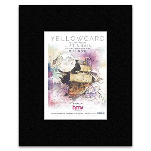 YELLOWCARD - Lift A Sail Matted Mini Poster - 13.5x10cm