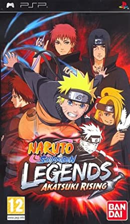 Amazon.com: Naruto Shippuden Legends Akatsuki Rising - PSP ...