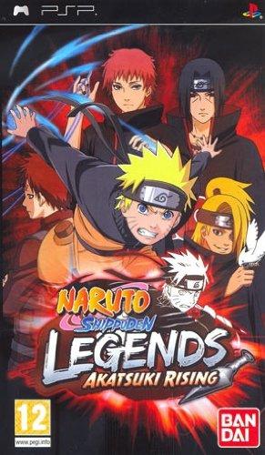 Amazon.com: Naruto Shippuden Legends Akatsuki Rising - PSP ...