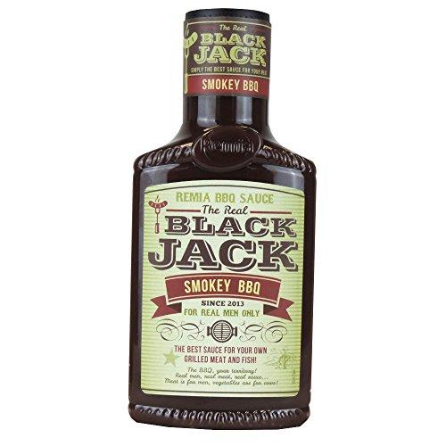 Remia – The Real Black Jack – Ideaal voor het kruiden van de lekkerste gerechten – Smokey BBQ – 450 ml