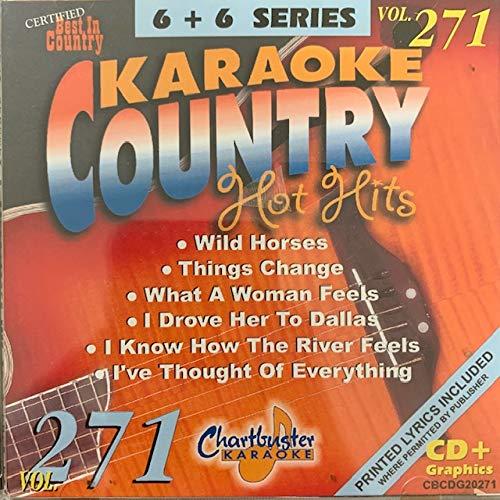 Charbuster Karaoke country hot hits vol 271 20271 ()