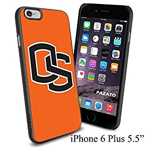 """NCAA OS STATE , Cool iphone 5s (+ ,"""") Smartphone Case Cover Collector iphone TPU Rubber Case Black"""