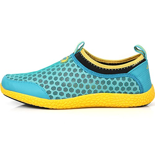 Athlectic Yellow Sports Shoes Water Beach Aqua Mint Comfort New Womens Mesh qwAtA6U