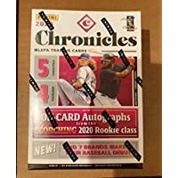 $31 » 2020 Panini Chronicles Baseball Blaster Box FACTORY SEALED 4 packs per box; 5 cards per pack
