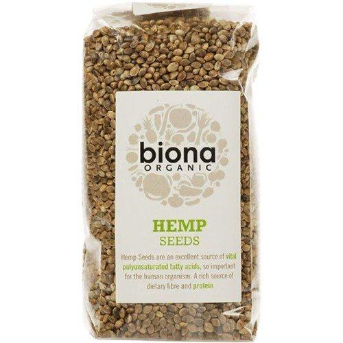 (2 Pack) - Biona - Org Hemp Seed   250g   2 PACK BUNDLE