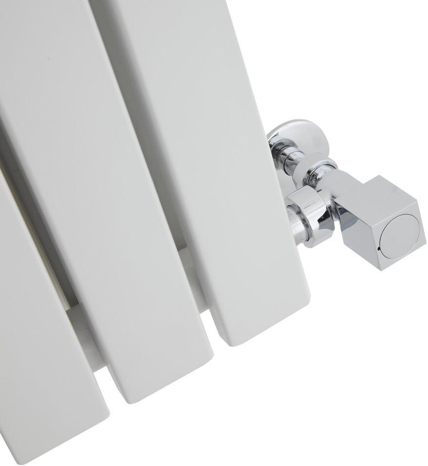 Hudson Reed Sloane Radiador de Dise/ño Vertical Antracita 1600mm x 354mm x 54mm 861 Vatios