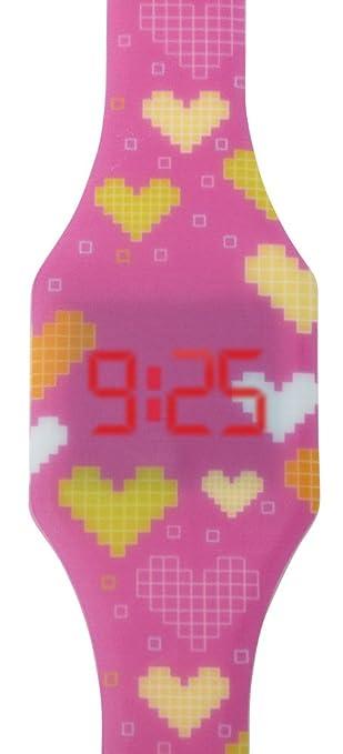 11 opinioni per Orologio a LED digitale per ragazze, bambini e giovani, da polso, cinturino in