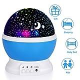Night Light for Children, Sendis Baby Star Projector Night Light Kids Rota