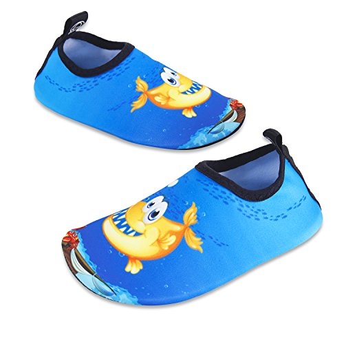 Pieds Séchage Hmiya Aquatiques Plage Surf À Enfants Nus Bleu Ppy Filles D'eau Piscine Sport Rapide Garçons Pour Aquatique Chaussures XqX8FC