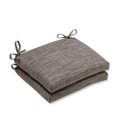 Pillow Perfect Outdoor/Indoor Remi Patina Squared Corners Seat Cushion (Set of 2), 18.5 in. L X 16 in. W X 3 in. D (Cushions D Seat Square Outdoor)