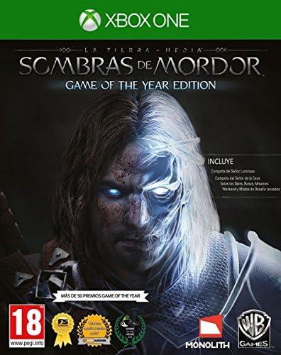La Tierra-Media: Sombras De Mordor - Game Of The Year Edition ...