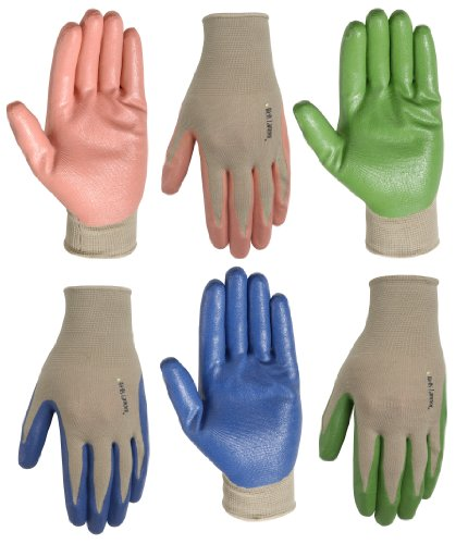 Wells Lamont 514S Women's Garden Polyester Shell Gloves with