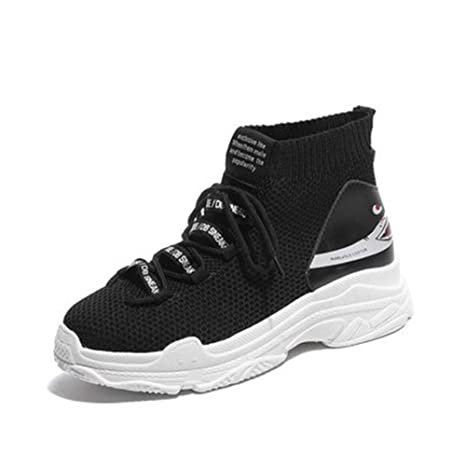 d64de88d4af67 Amazon.com: DETAIWIN Womens Fashion Sneakers Comfortable High Top ...
