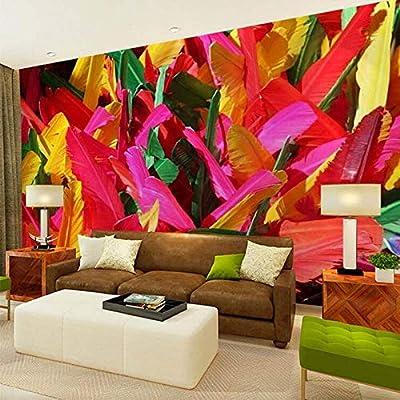 Jhnjus 3d Mural Wallpaper Modern Abstract Wall Art Decor Murals