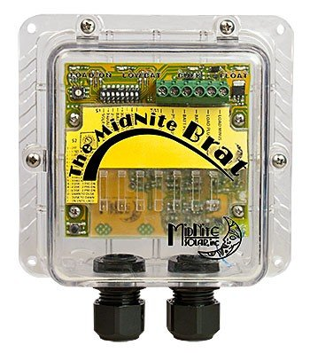 MIDNITE SOLAR BRAT CHARGE/LIGHTING CONTROLLER - 30 AMP, 12/24 VOLT DC, LOW VOLTAGE DISCONNECT, P/N BRAT by MidNite Solar