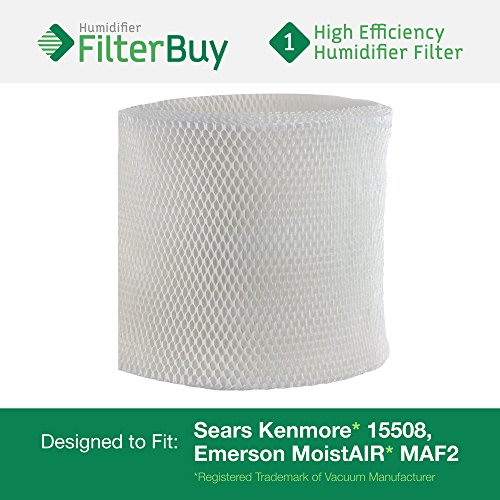 15508 Sears Kenmore Humidifier Wick Filter. Fits humidifier model numbers 17006, 15408, 29988, 154080, 29706, 299880C, 3215508 and 4215508. Designed by AFB in the USA. (Kenmore Humidifier Filter 17006 compare prices)