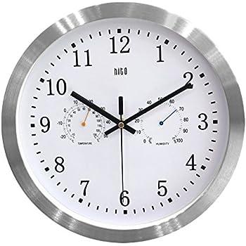 Amazon Com Hito Silent Wall Clock Non Ticking 16 Inch