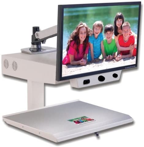 3.2x to 73x 24-in by MagniSight Explorer Hd Cctv Magnifier