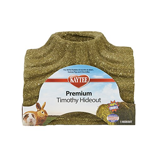 (Kaytee Premium Timothy Treat Hideout For Small Animals, Large)