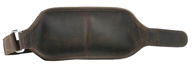 Vintage Full Grain Leather Full Grain Leather Bulk Fanny Pack LW12.DS